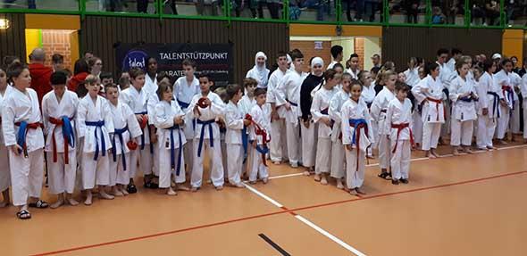 Der Wormser Karatenachwuchs zeigte beim 26. Internationalen Odenwald-Cup sehr gute Leistungen.