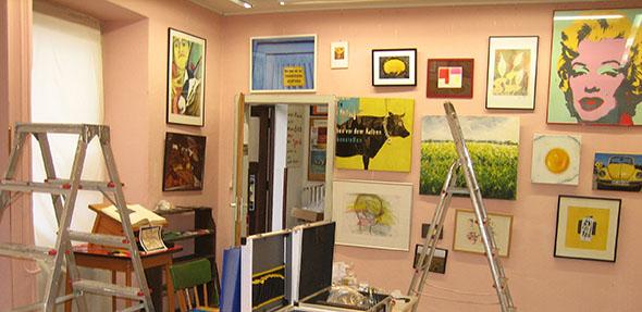 """Ab dem 13. Januar ist die neue Ausstellung unter dem Themenbegriff """"Gelb"""" zu sehen."""