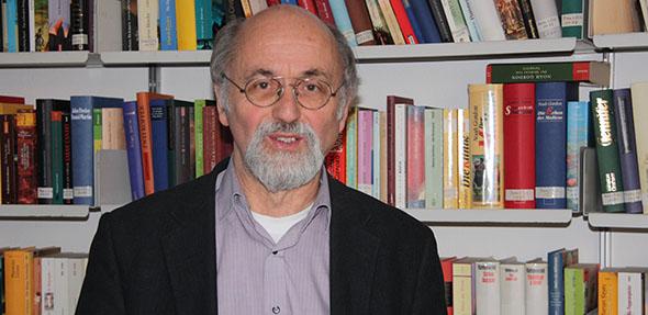 Pfarrer Dieter Bauer kurz vor dem Ruhestand im Jahr 2011. Foto: Berndt Biewendt