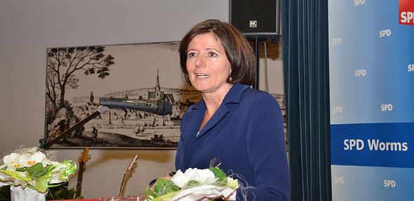 Zum Auftakt des Wahljahrs 2019 wird Ministerpräsidentin Malu Dreyer am 21. Januar in Monsheim sein. Archivfoto: Gernot Kirch