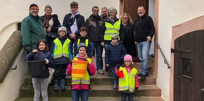In nur drei Stunden fanden und sammelten die Aktiven des Dreck-Weg-Tages 700 Kilogramm Müll und Unrat.