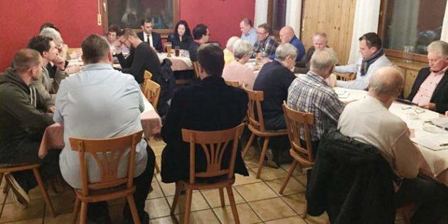 In großer Einmütigkeit ging die Versammlung der CDU in der Verbandsgemeinde Eich über die Bühne.