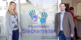 Tom und Melissa Steckenreiter eröffnen am neuen Standort Herrnsheim.Foto: Leonie Ahlert