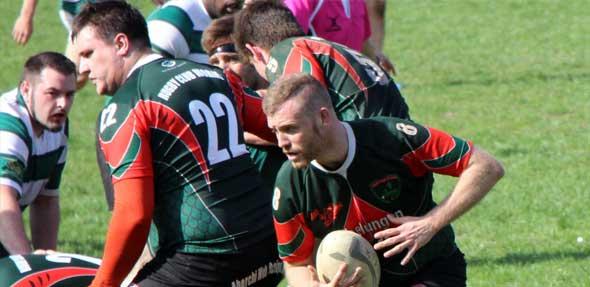 Die Rugby Herren geben alles und holen erste Punkte in Trier.