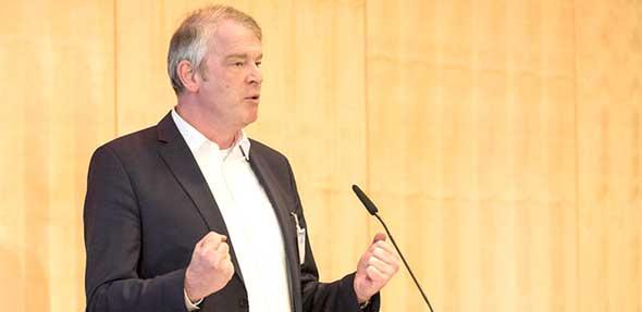 BVDA-Präsident Alexander Lenders wertet Leserakzeptanzstudie als Mutmacher für die Zukunft. Foto: BVDA / Bernd Brundert