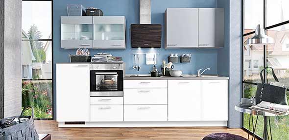 Bei Möbel BOSS können die Kunden ihre Küche individuell planen lassen.