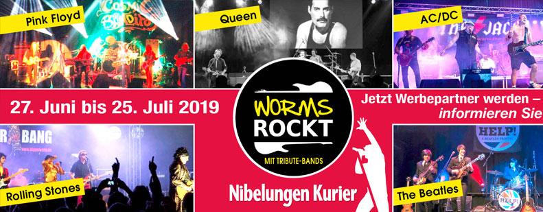 Neue Festivalserie: Worms rockt!