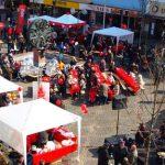 Die Wormser SPD veranstaltet ihr traditionelles Marktfrühstück auf dem Wormser Obermarkt.