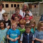 Großes Engagemnet: Die Kinder der Betreuendden Grundschule Rheindürkheim saamelten 358,65 Euro für den Wormser Gnadenhof.