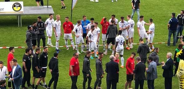 Zweiter Sieger! Wormatia unterlag im Pokalfinale knapp mit 2:1. Foto: Steffen Heumann