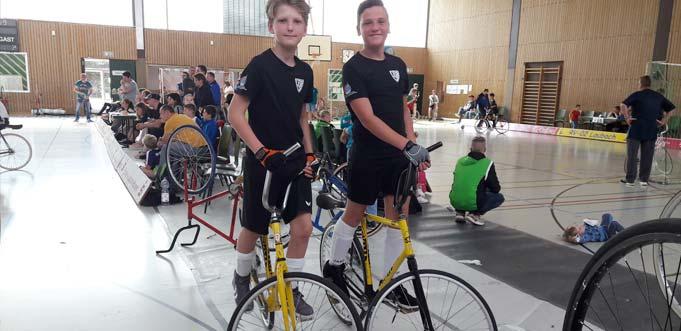 Paul Grimm und Simon Günther erreichten den 3. Platz.