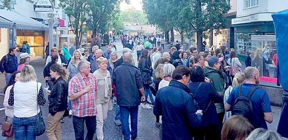 Die Kunst- und Einkaufsnacht ist aus dem Frankenthaler Veranstaltungskalender nicht mehr wegzudenken.