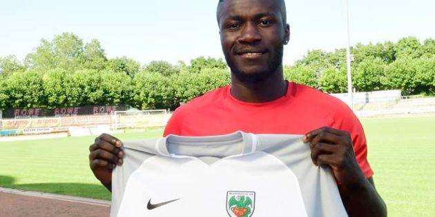 Emmanuel Léonce Kouadio unterschreibt einen Vertrag bis 30. Juni 2021.