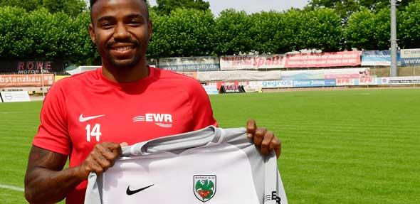 Geovane Henrique Oliveira Damaceno hat einen Vertrag bis 2020 unterschrieben. Foto: Karin Flesner
