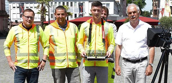 Die Abteilung Stadtvermessung und Geoinformation lässt in den kommenden Wochen ihre Drohne aufsteigen, um die von der Grünflächenabteilung umgesetzten Wiesen- und Gehölzflächen im Wormser Norden aus der Vogelperspektive zu dokumentieren.