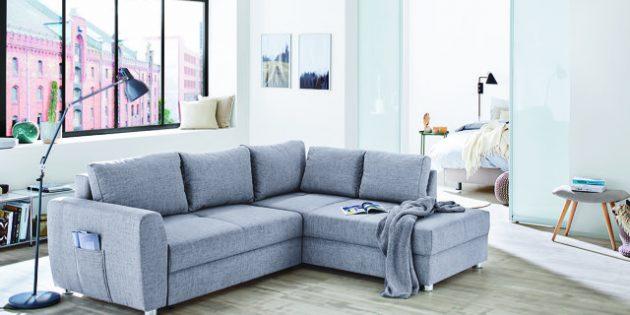 BU: Neue Couch, neues Wohngefühl: Im Endspurt des SSV lohnt es sich besonders über große Neuanschaffungen nachzudenken. Foto: ©SB-Möbel BOSS