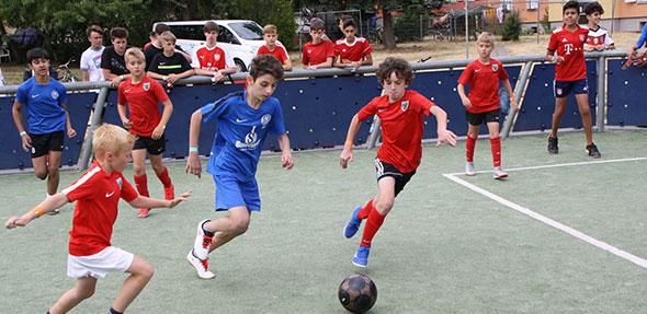 Die Kinder und Jugendlichen im Alter von 10 bis 18 Jahren hatten großen Spaß an den drei Tagen des Wohnungsbau Cup 2019.