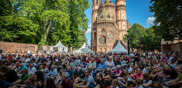 """Knapp 20.000 Besucher waren am Wochenende bei """"Worms: Jazz & Joy"""" zu Gast. Foto: Bernward Bertram"""