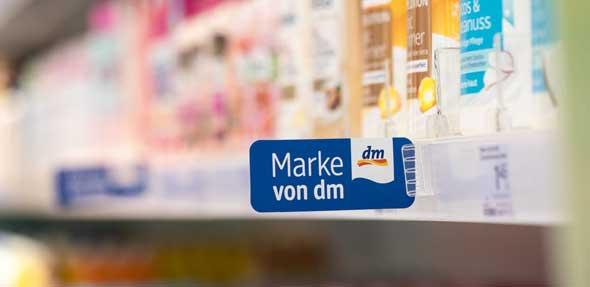 dm ist der beliebteste Händler und Balea die beliebteste Handelsmarke laut YouGov Ranking. Foto: dm