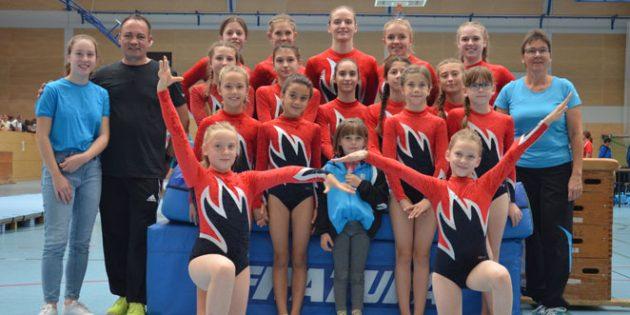 Die Mannschaften der TG Westhofen haben sich  die Qualifikation für die Rheinhessenmeisterschaften erfolgreich erturnt.