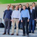Der Lenkungsausschuss von OpenKONSEQUENZ um EWR-Netz-Projektleiter Bernhard Betz.