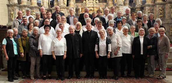 Der katholische Kirchenchor Heilig-Kreuz/St. Bonifatius verbrachten zwei unvergessliche Tage in Erfurt.