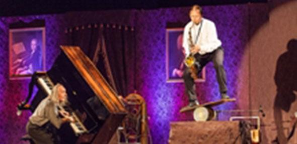 Die Konzertakrobaten Gogol & Mäx. Foto: Philipp von Ditfurth