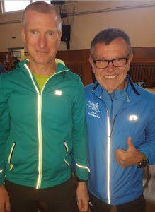 Die erfolgreichsten LLG'ler an diesem Tag (von links): Hans-Willi Freiberger und Rudi Alt.