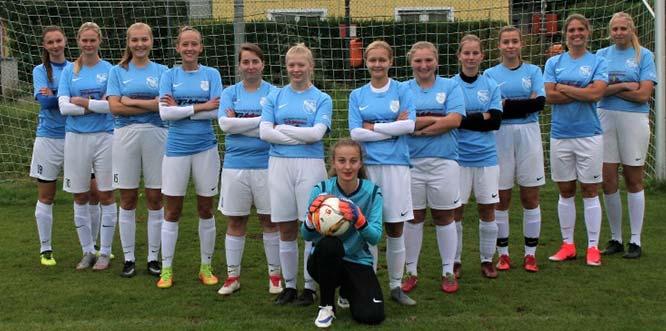 Die Spielerinnen der SG Leiselheim/Westhofen kämpfen aktuell um die Tabellenspitze.