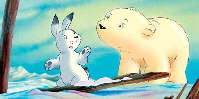 Der kleine Eisbär lädt in den Lux Kinos Frankenthal am 17. November um 13.30 Uhr auch die allerjüngsten Kinogäste und ihre Eltern ein Foto: Warner Bros Film