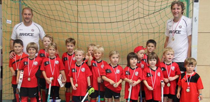 Manche der Kinder hatten zum ersten Mal an einem Turnier teilgenommen.