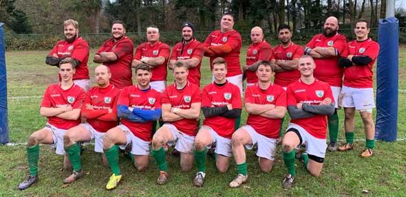 Die Herren des Rugby Clubs Worms verabschieden sich mit einem Auswärtssieg in die Winterpause.