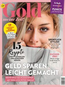 """Das Kundenmagazin """"Gold – meine Zeit"""" erscheint im neuen Look. Foto: Netto Marken-Discount"""