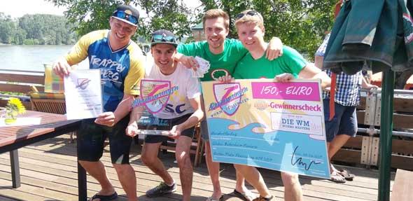 Das Siegerteam vom SSC Trappenberg hofft auf eine erfolgreiche Titelverteidigung.