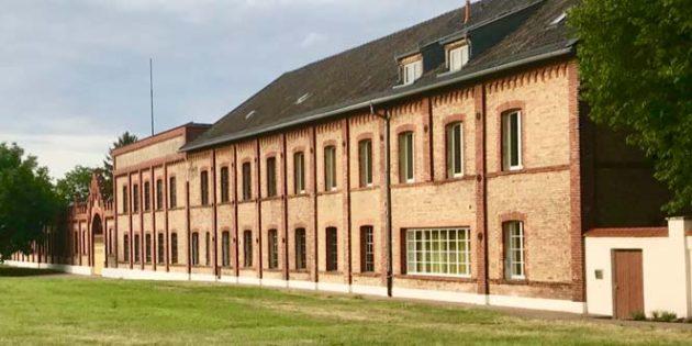 Das NS-Dokumentationszentrum Rheinland-Pfalz/Gedenkstätte KZ Osthofen im Ziegelhüttenweg 38. Foto: Robert Lehr