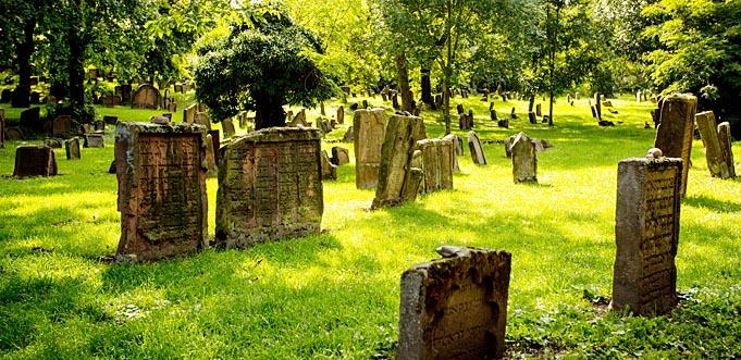 "Der Jüdischer Friedhof ""Heiliger Sand"". Foto: Bernward Bertram"