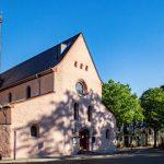 Die Magnuskirche in Worms gilt als älteste lutherische Kirche in Südwestdeutschland. Hier wurde schon 1520, also vor dem Wormser Reichstag von 1521, im Sinne Luthers gepredigt. Foto: Bernward Bertram