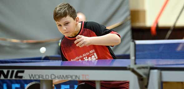 Der erst 10-jährige Toma Ivanov zeigte sich bei seinem Debüt völlig unbeeindruckt und mit starker Leistung.