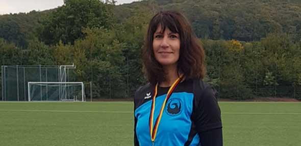 Mit insgesamt drei Titeln gehörte die Wormserin Kristina Telge am Ende zu den erfolgreichsten Athleten.