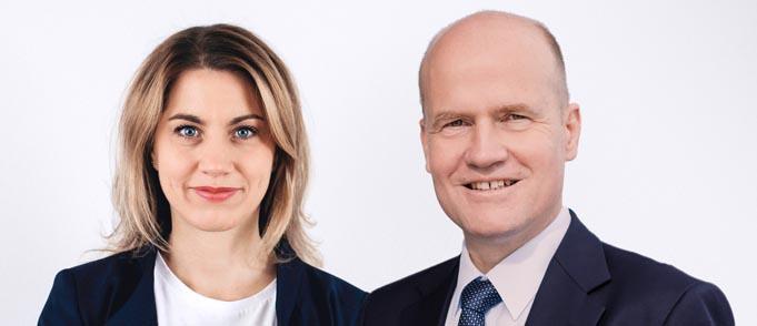 Die Wormser CDU-Vorsitzende Stephanie Lohr (MdL) und CDU/CSU-Fraktions-Chef Ralph Brinkhaus.