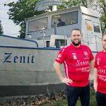 Manuel Bühler (rechts) und Sascha Ruppert, sind ganz neue Wege gegangen - und die sollen nun sogar der Zenit helfen. Foto: Björn Krämer