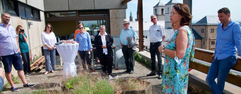 Kathrin Anklam-Trapp dankte den Anwesenden und bat weiterhin um Unterstützung des Trägervereines. Foto: Robert Lehr