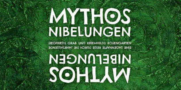 """Das Buch """"Mythos Nibelungen"""" – Siegfrieds Grab und Kriemhilds Rosengarten mit 144 Seiten ist ab sofort erhältlich."""