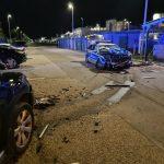 Unfall mit Polizeiauto
