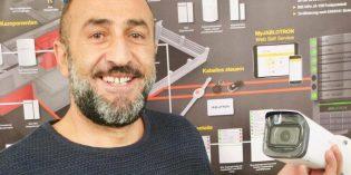 Intelligente Kameras können laut Yilmaz Yüzügüldü Autokennzeichen erkennen oder Tiere, Menschen und Fahrzeuge unterscheiden. Foto: Robert Lehr