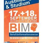 Berufsinformationsmesse Worms – Samstag, 11. September 2021, 36. Woche