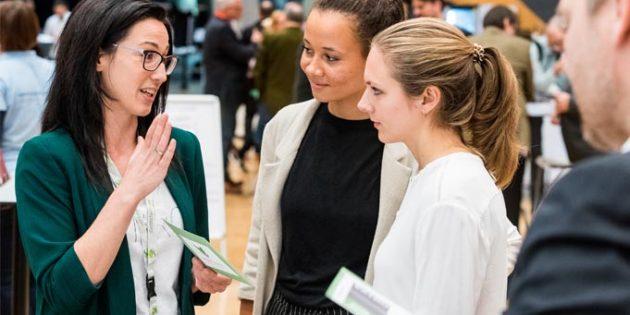 Die KONEKT ist keine Fachmesse, sie spricht jeden an, vom Auszubildenden und Studenten bis zum Geschäftsführer. Foto: KONEKT