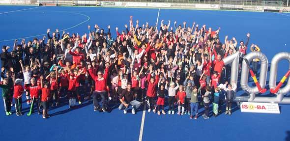 Am vergangenen Wochenende wurde das 100-jährige Jubiläum der TGW Hockeyabteilung mit einem Mixed-Turnier gefeiert.