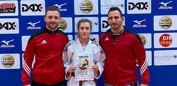 Lea Bender konnte sich bei den Deutschen Einzelmeisterschaften der U18 einen tollen 7. Platz erkämpfen.