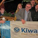 Von links: Uwe Martin, Gesa Marie Schulze, Norbert Jansen, Jürgen Seckler, Daniel Hinz, Wolfgang Neidhöfer und Wolfgang Döpfner. Foto: Kiwanis-Club Worms